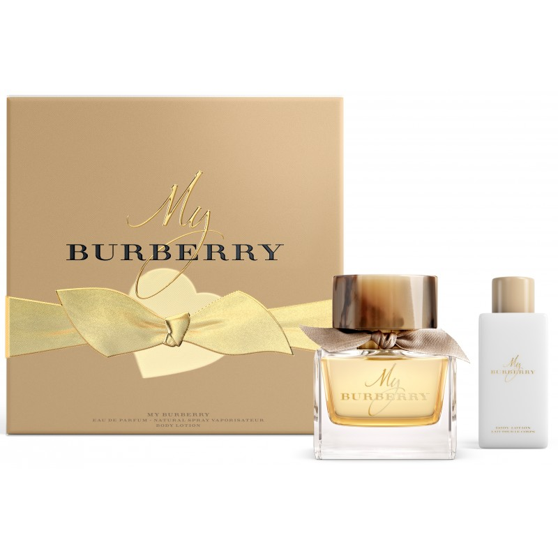 coffret my burberry eau de parfum de burberry sur parfumerie en ligne. Black Bedroom Furniture Sets. Home Design Ideas